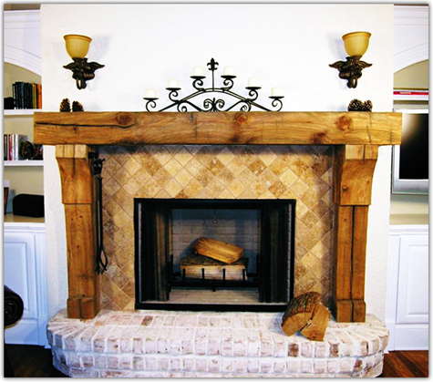 old wood fireplace mantels. Blackford and Sons is preserving generations of history in our Reclaimed  Log Fireplace Mantels Beam Made Wood